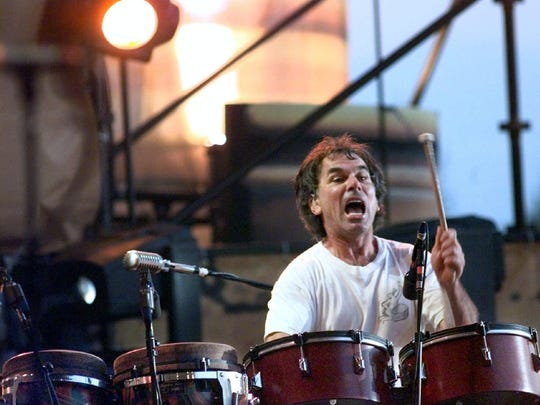 The Grateful Dead drummer and Brooklyn native Mickey Hart, pictured in 1999.