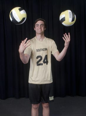 Liam Maxwell of Southern is the 2015 All-Shore Boys Volleyball Player of the Year.
