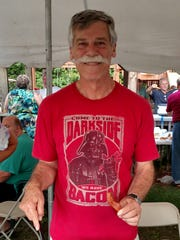 Bill Freisleben, who took first place at Frontier Wilderness Campground with his Bacon, Beer and Door County Cherry Chili.