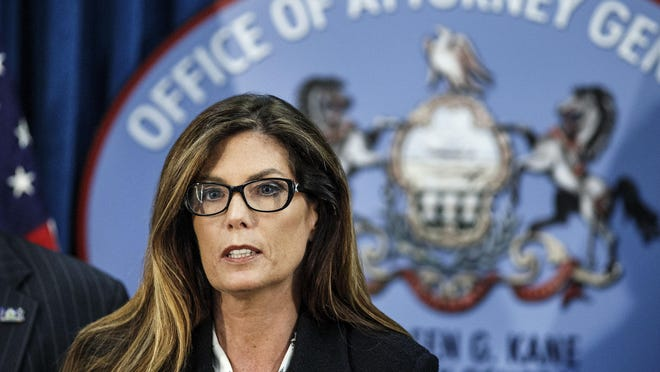 Kathleen Kane recently resigned as the attorney general of Pennsylvania.