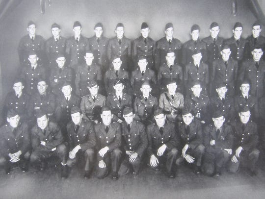 A photo of C Company 192nd Tank Battalion, which was