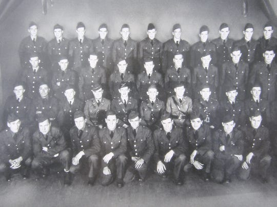 A photo of C Company 192nd Tank Battalion, which was sent to the Battle of Bataan in January 1942.