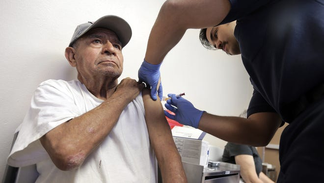 Health officials said more than 1,000 cases of the flu have been reported in El Paso so far this season, about four times more than at this time last year.