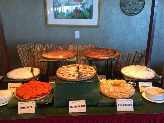 An array of desserts served at the new Filipino lunch