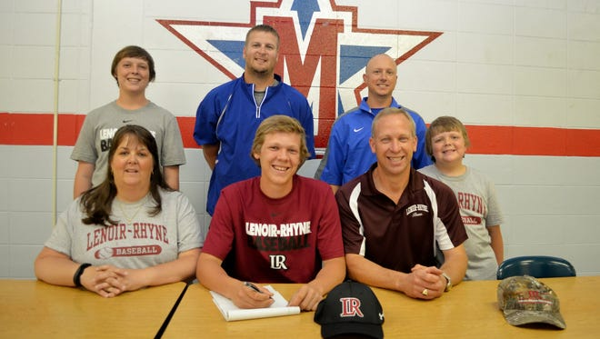 McDowell senior Landon Whitson has signed to play college baseball for Lenoir-Rhyne.