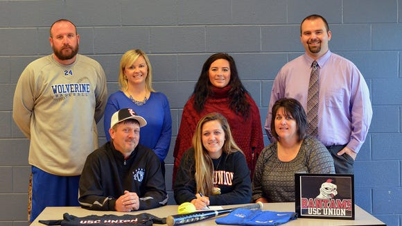 Polk County senior Ashley Ponder has signed to play