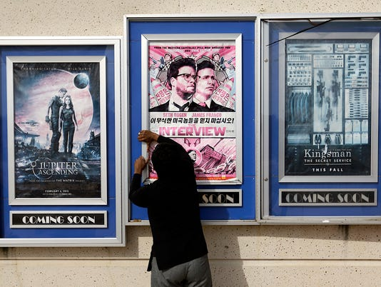 AP SONY HACK THE INTERVIEW A F ENT FILE USA GA