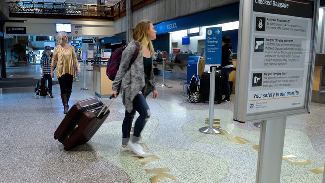 Corrina Dahlin and her three children are avid travelers. Great Falls International Airport is hosting a sign-up event for the TSA Pre-check program which allows passengers to board commercial flights without all the security hassle.
