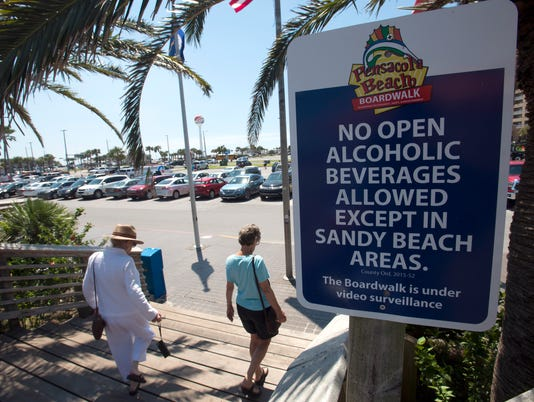 Beach Alcohol Ordinance
