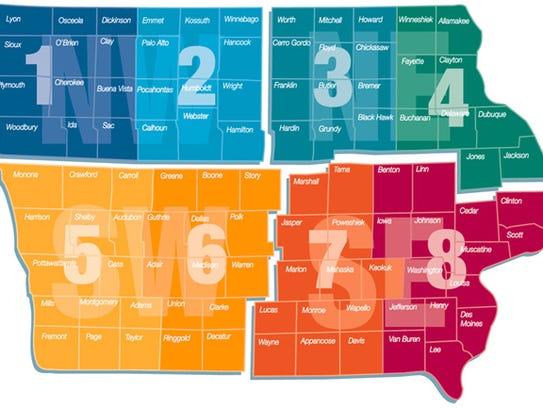 Iowa City City Council Distric B Map