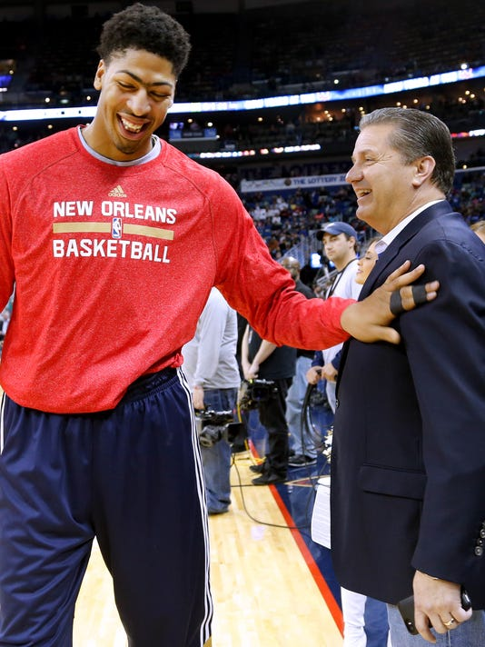 Anthony Davis, John Calipari