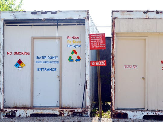 The Baxter County Road and Bridge Department also is home to the Baxter County Recycling & Hazardous Waste Center.