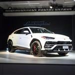 Detroit auto show photos: Lamborghini Urus SUV