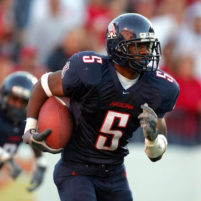 Antoine Cason of the Arizona Wildcats in a 2004 game.