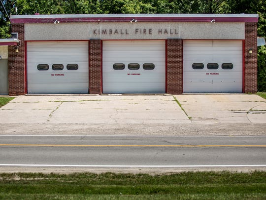 Work on the new Kimball Township Fire Hall will begin within a couple weeks after contracts for the construction were signed Friday.