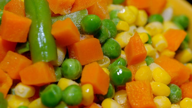 Frozen peas, corn and vegetable medleys have been voluntarily recalled by CRF Frozen Foods.