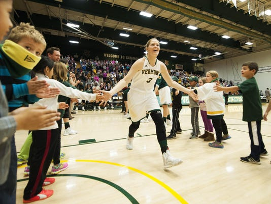 Central Connecticut vs. Vermont Women's Basketball 11/13/15