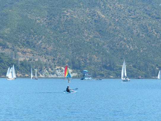 The Whiskeytown Sailing Club hosts the 54th annual Memorial Regatta this weekend at Whiskeytown Lake.