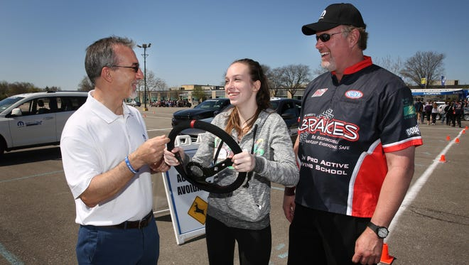 Teen drivers are more expensive to insure, but programs try to make them safer. This is a Mopar program.