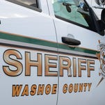 A file photo of a Washoe County Sheriff's vehicle. Deputies are working with FBI on investigating several churches vandalized in Incline Village.