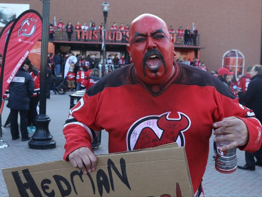 Tampa Bay Lightning vs New Jersey Devils -- Opening Round of the Stanley Cup Playoffs --