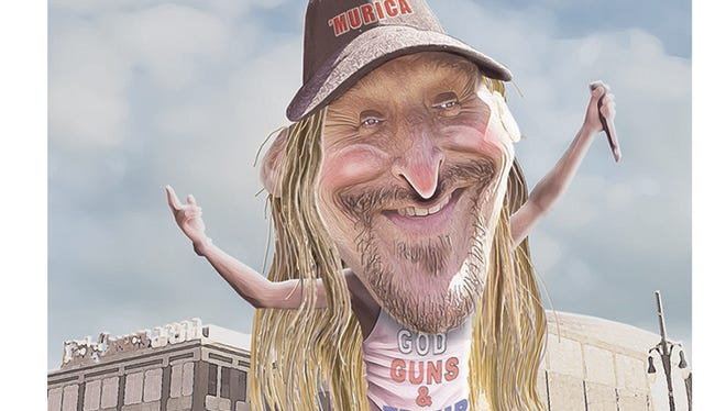 Kid Rock is slated to open Little Caesar's Arena later this month.