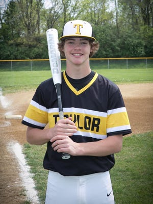 Jacob Hughes is a co-winner for the Ohio Enquirer Preps athlete of the week May 8-14.