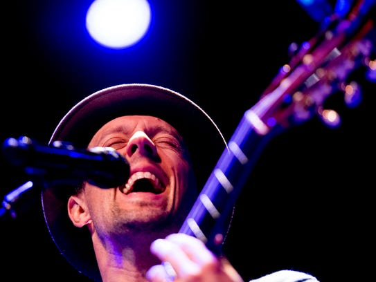 Jason Mraz performs at the Tennessee Theatre in Knoxville,