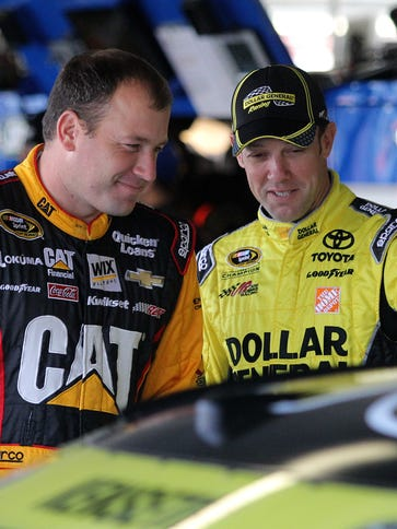 Winless drivers Ryan Newman, left, and Matt Kenseth