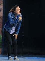 Comedian Taylor Tomlinson's delivery varied from sweet