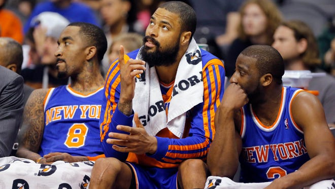 The New York Knicks were eliminated from the playoffs Saturday.