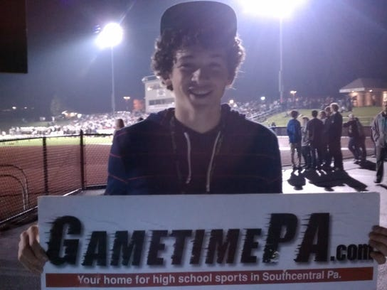 Judge Kunce from Red Lion shows off his GameTimePA spirit!