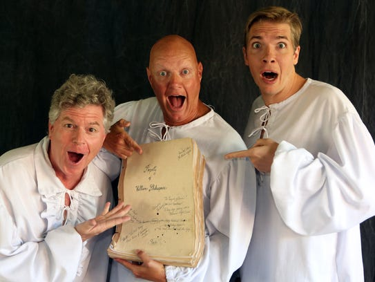 "Reduced Shakespeare Company presents ""All The Great"