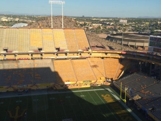 ASU student section