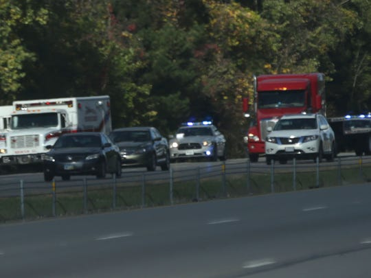A fatal car crash on I-71 temporarily closed traffic. The Ohio Highway Patrol said it was a one-vehicle crash that left four people injured.