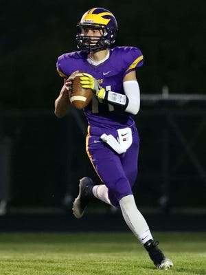 Quarterback Bryce Miller and New Berlin Eisenhower will face New Berlin West in a Friday home game.