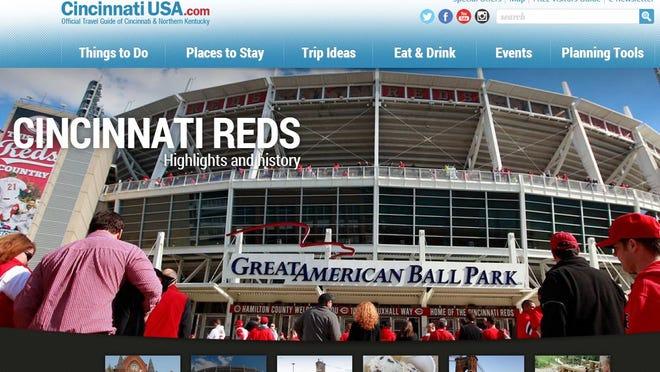 Screenshot of CincinnatiUSA.com.