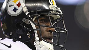 Antonio Brown of the Steelers became the highest-paid wide receiver in the NFL on Monday.