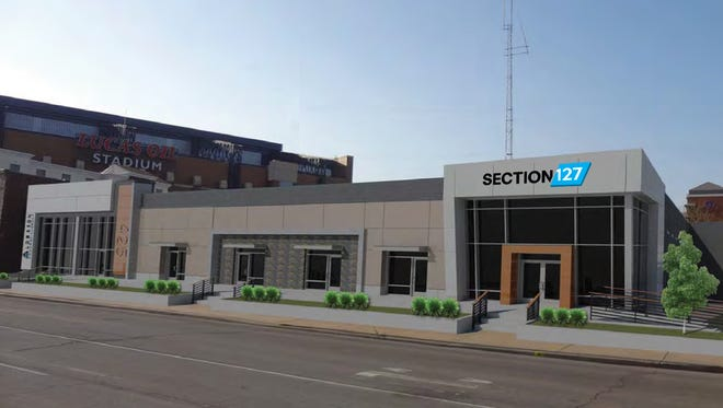 Sport Graphics Inc. is launching a new creative agency, called Section 127, near Lucas Oil Stadium at 425 W. South St.