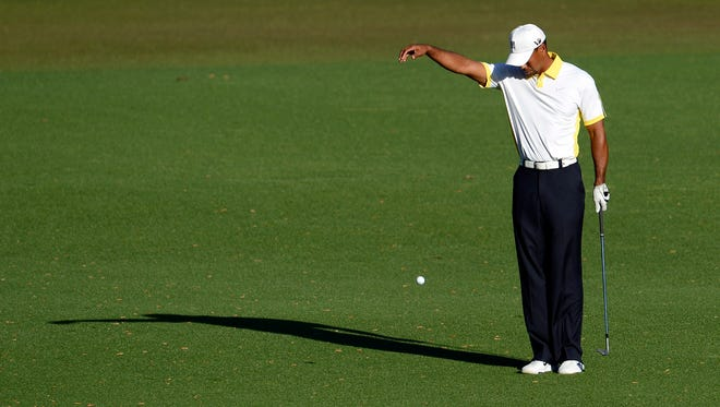Tiger Woods' drop on the 15h hole during Round 2 of the Masters is still causing controversy.
