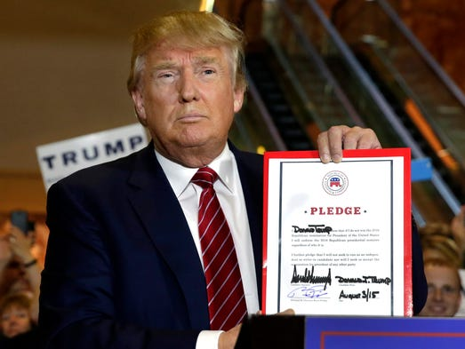 news november analysing donald trumps pledges presidential election republican party