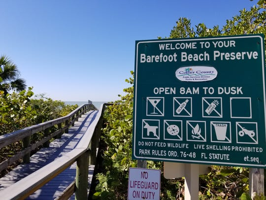 Barefoot Beach County Preserve is becoming costly to