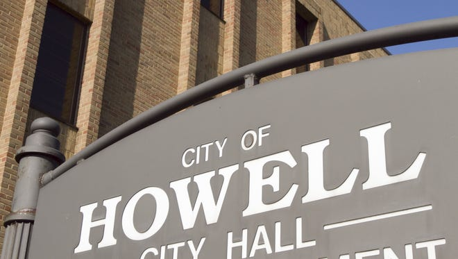Howell officials say a sewage spill has been cleaned.