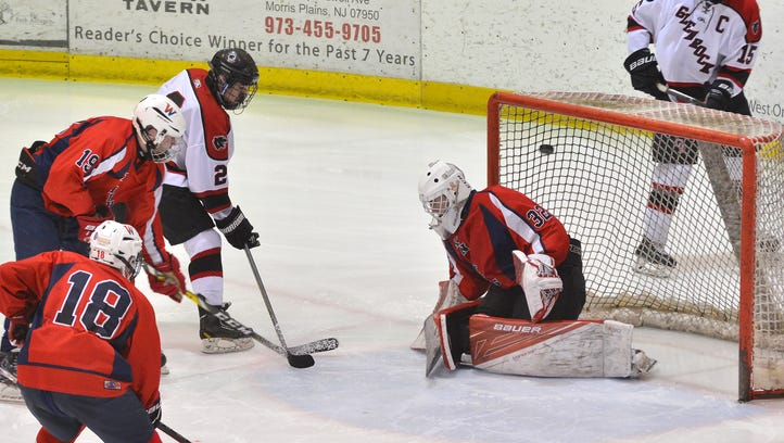 Strong special teams play lifts Glen Rock hockey into first place over Lakeland