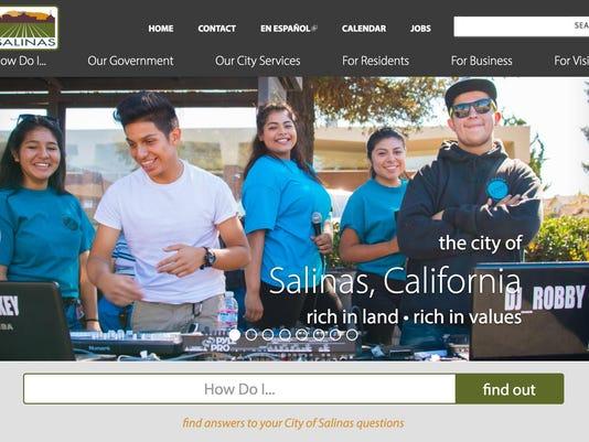 City of Salinas new website