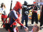 Deadpool had some fun interacting with other characters