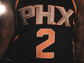 "The Suns' new ""Statement Edition"" uniform."