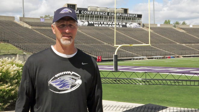 Wisconsin-Whitewater football coach Kevin Bullis.