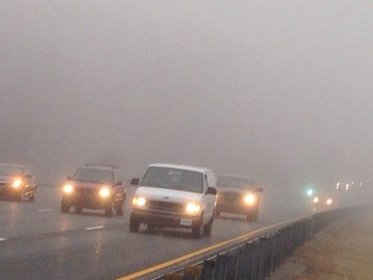 fog I-95