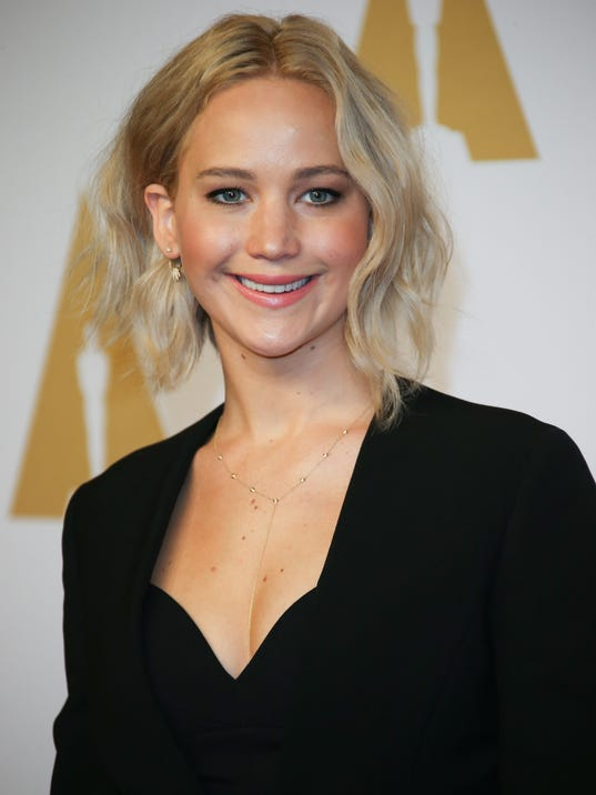 Jennifer Lawrence, seen here at the 88th Oscars Nominees Luncheon in ... Jennifer Lawrence